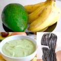 Банан для волосся: смачні зволожуючі маски