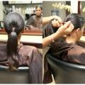 Гладкі зачіски