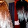 Як змити колір волосся