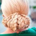 Ефектна святкова зачіска