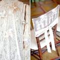 Мереживо у весільному декорі: акценти на ажурні деталі