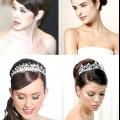 Весільні зачіски з діадемою
