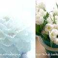 Весільний букет своїми руками: гламелія з пелюсток тюльпана