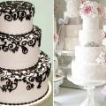 Вантажний весільний торт з мережива: солодка вишуканість в декорі