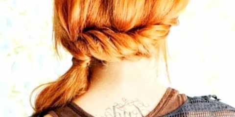 2 Зручні зачіски з хвостом на кожен день