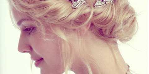 Весільні зачіски на коротке волосся з фатою