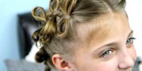 Дитячі зачіски на довге волосся для дівчаток