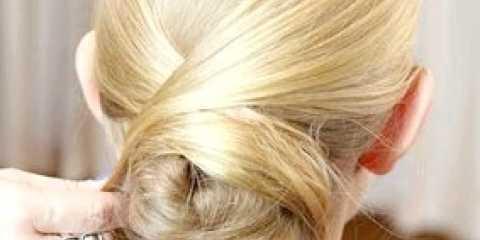 Гладка зачіска