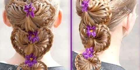 Незвичайне плетіння - коса сердечко