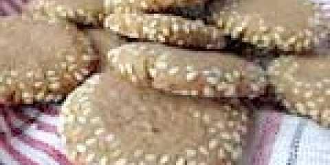 Печиво з кунжутом - 4 ідеї для гурманів