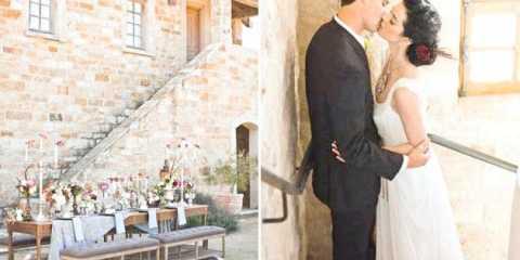 Весілля восени в італії в родовому старовинному маєтку