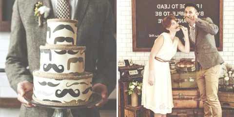 "Весілля восени в ретро стилі або ""носи вуса"" в листопаді!"