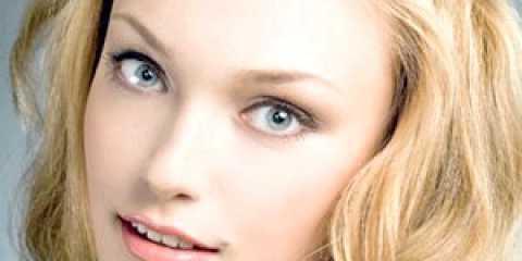 Денний макіяж для сіро-зелених очей