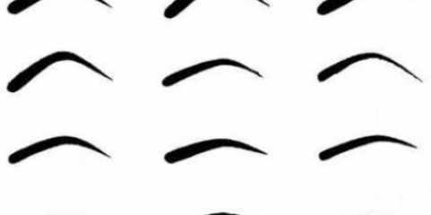 Які бувають форми брів