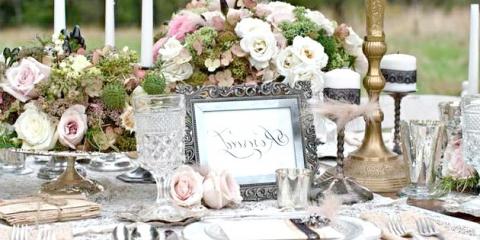 Як оформити весільний стіл у вінтажному стилі: поради з декору