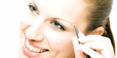 Як правильно вищипнути брови ідеально придатної форми