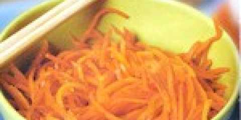 Як приготувати морква по-корейськи: сонячний салат