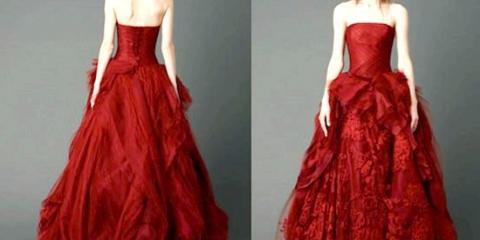 Червоне весільну сукню від віри вонг: смілива альтернатива білому!