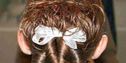 Модна зачіска для дівчинки
