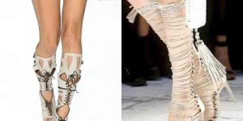 Модне жіноче взуття весна-літо 2014