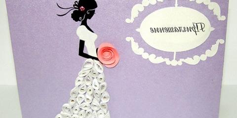 Запрошення на весілля своїми руками: майстер-клас для наречених