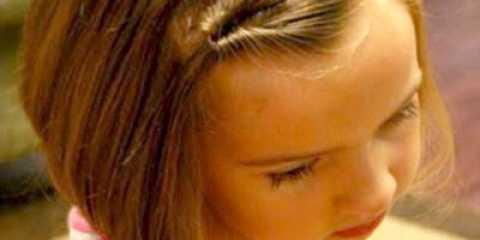 Зачіска для дівчинки покроково