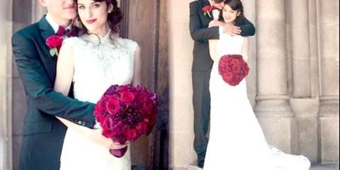 Весілля в червоному стилі - вибір романтичних натур