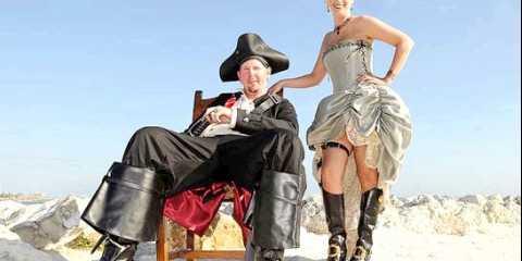 Весілля в піратському стилі для невиправних романтиків