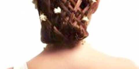 Весільна зачіска з плетінням