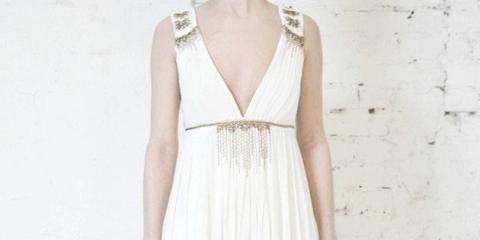 Весільні сукні у грецькому стилі: божественна мода мешканок олімпу