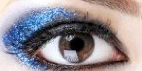 Вечірній макіяж для карих очей