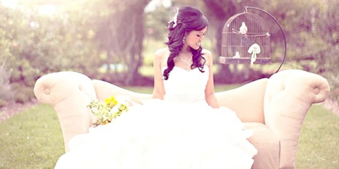 Вінтажна меблі у весільному декорі: стильне і добре забуте старе