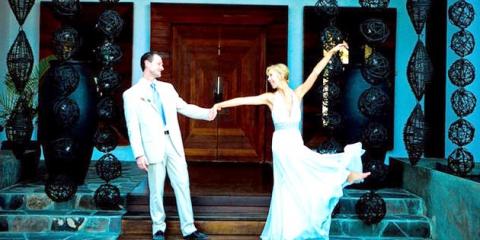 Декор весілля в синьому: як оформити стильно свято?