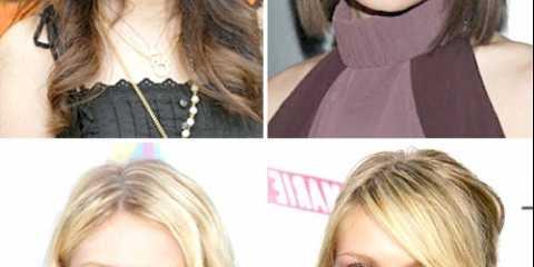 Стрижки для круглого обличчя і тонкого волосся